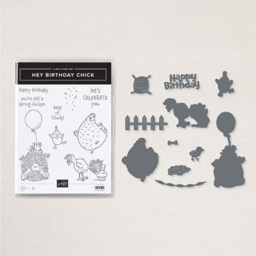 Stampin' Up! Hey Birthday Chick Bundle - for inspiration and more visit juststampin.com - Jeanie Stark StampinUp