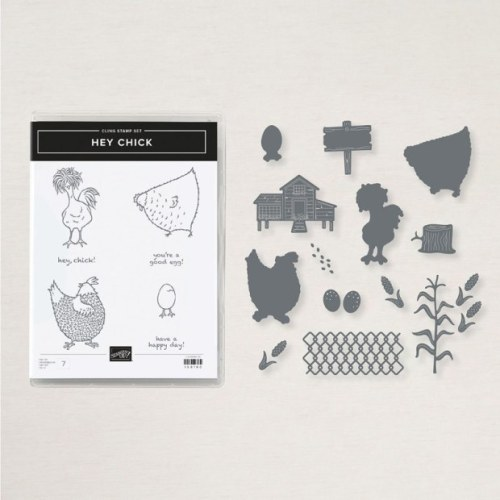 Stampin' Up! Hey Chick bundle - for inspiration and more visit juststampin.com - Jeanie Stark StampinUp