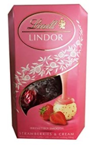 Lindt strawberry and cream