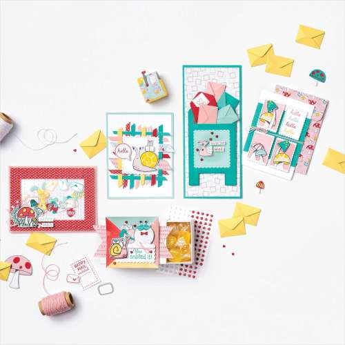 Stampin' Up! Snail Mail Suite sample ideas - for inspiration and more visit juststampin.com - Jeanie Stark StampinUp