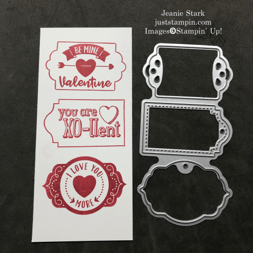 Stampin' Up! Trip of Tags Dies and Tags, Tags, Tags, stamp set - create quick & easy tags for cards and fun projects - Jeanie Stark StampinUp