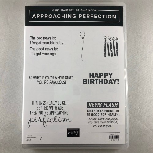 Stampin' Up! Approaching Perfection Stamp Set - visit juststampin.com to see how you can win this stamp set! _ Jeanie Stark StampinUp