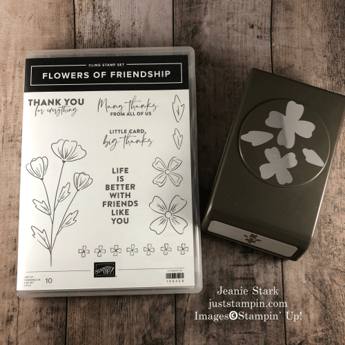 Stampin' Up! Flowers Of Friendship Bundle- visit juststampin.com for inspiration and ordering information - Jeanie Stark StampinUp