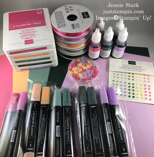 Stampin' Up! 2021-2023 In Color products - visit juststampin.com for inspiration and ordering information- Jeanie Stark StampinUp