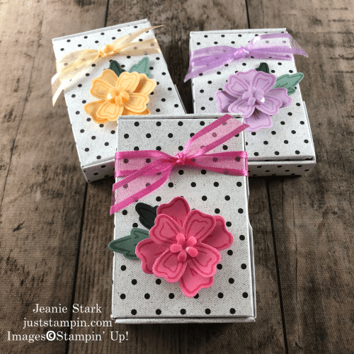 Stampin' Up! Flowers of Friendship bundle with Paper Pumpkin Little Love Boxes - Jeanie Stark StampinUp