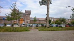 Going past Scheveningen prison