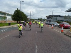 Heading to The National Cycling Centre