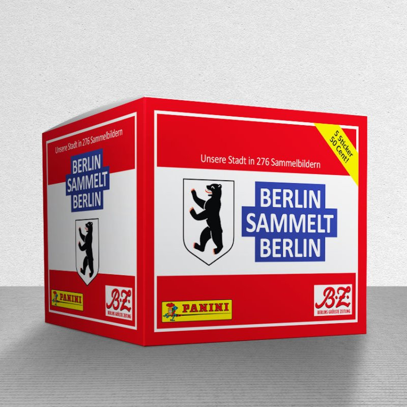 Berlin Sticker Panini