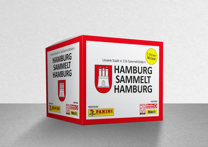 Hamburg Sticker Panini
