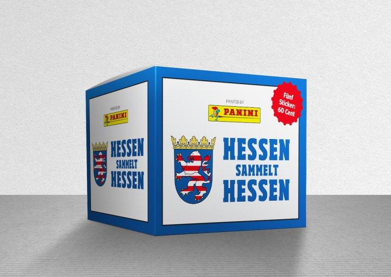 Hessen sammelt Hessen Panini Sticker