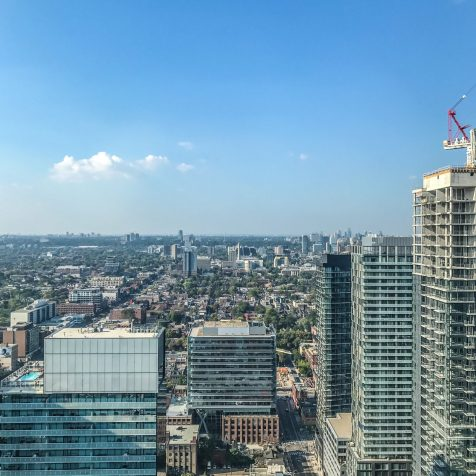 KOST Toronto - 360 Views from the 44th floor of Bisha Hotel