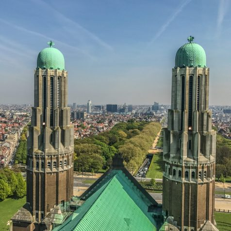 atop basilica - brussels