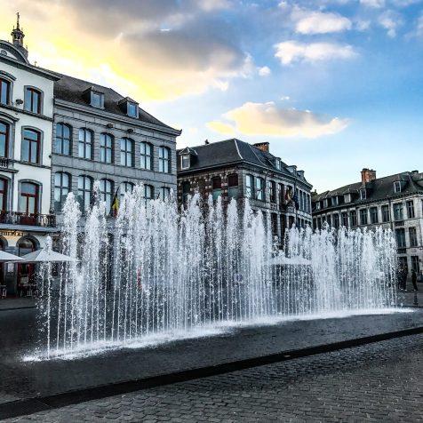 Cascading Fountain - Mons - Belgium