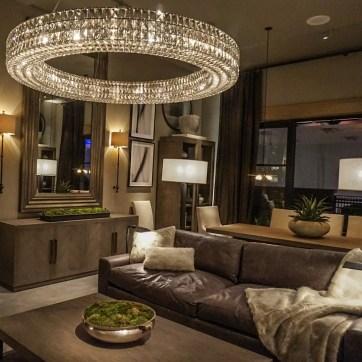 Restoration Hardware RH Living Room Design