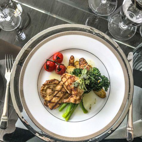 Hotel X - Media Preview - Luncheon - Chicken