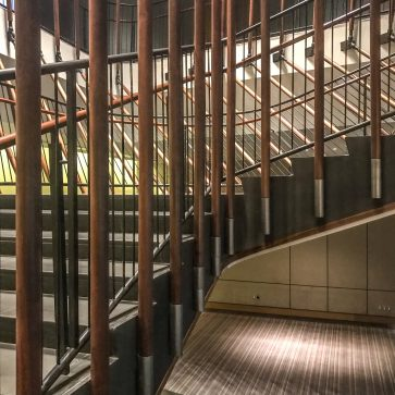 Conrad NYC - Staircase