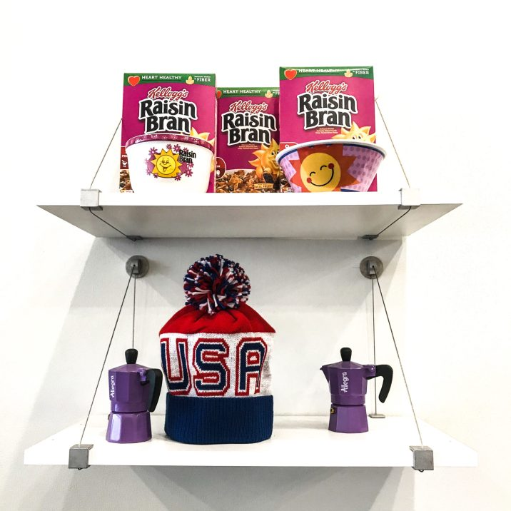 Kelloggs Cereal Cafe NYC - Raisin Bran