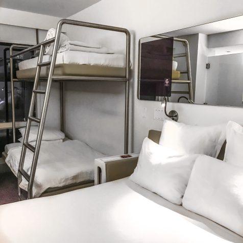YOTEL NYC HOTEL CABIN ROOM