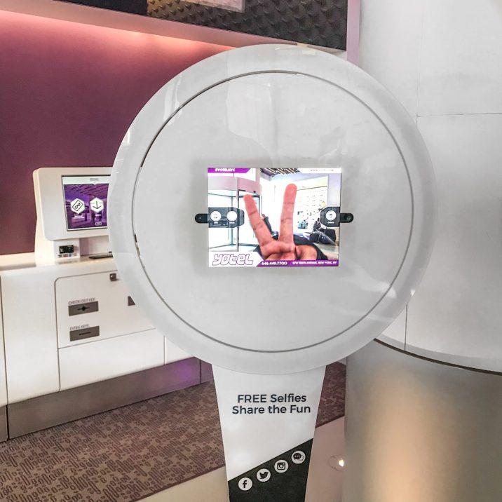 YOTEL NYC - Hotel - Selfie Station