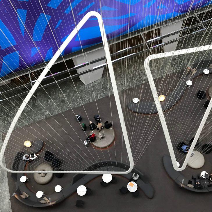Conrad NYC Lobby