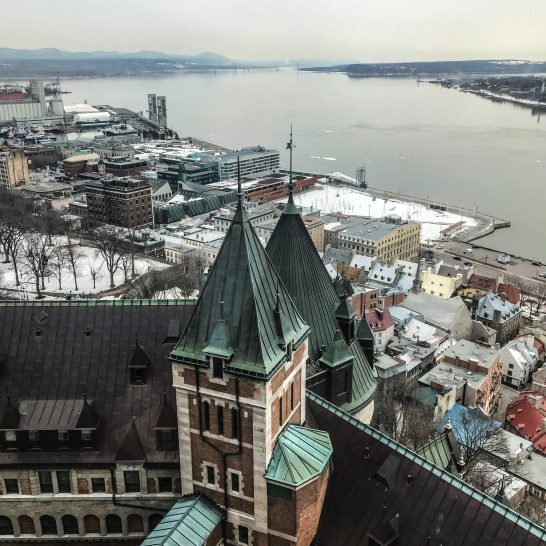 Fairmont Le Chateau Frontenac - Quebec City - View