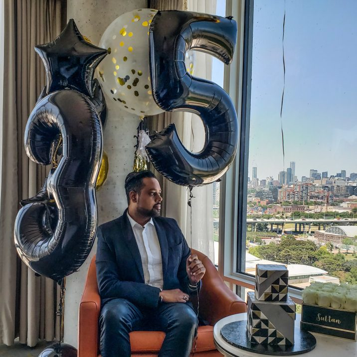 Just Sultan - Hotel X - Birthday Celebration - Balloon Bar Toronto - 35