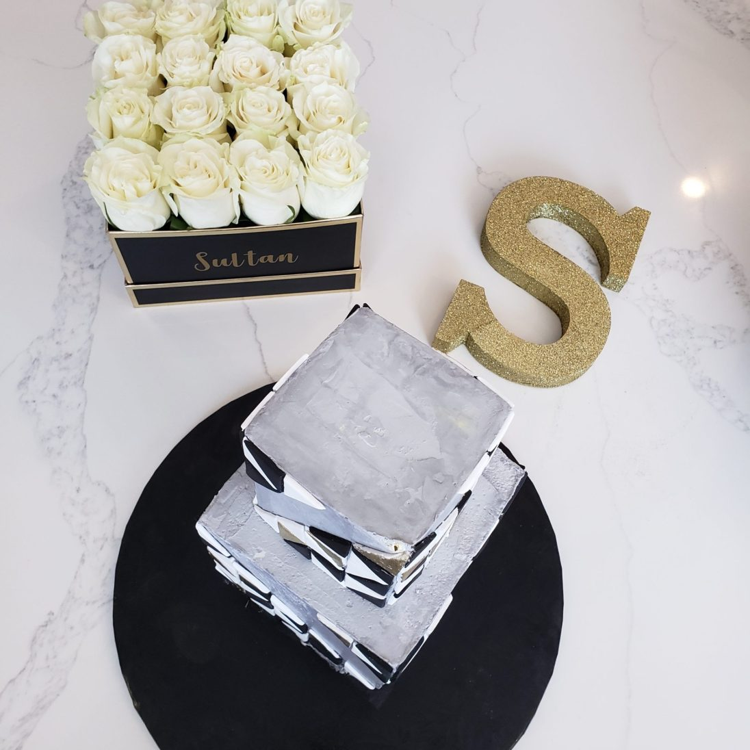Just Sultan - Hotel X - Birthday Celebration - Cake and Flowers