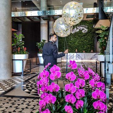 Just Sultan - Hotel X - Birthday Celebration - Lobby Entrance