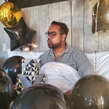 Just Sultan - Hotel X - Birthday Celebration - Shady Cake - Make a wish