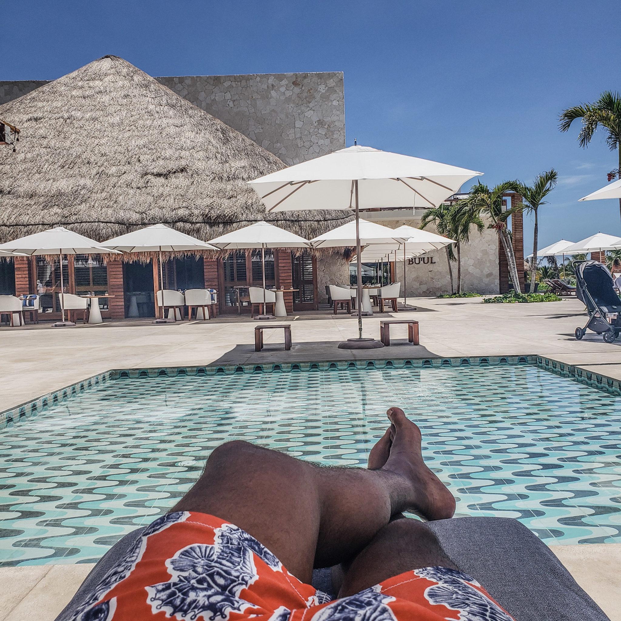 Chable Maroma Resort - Quintana Roo - Playa Del Carmen - Playa Maroma - Poolside Lounge