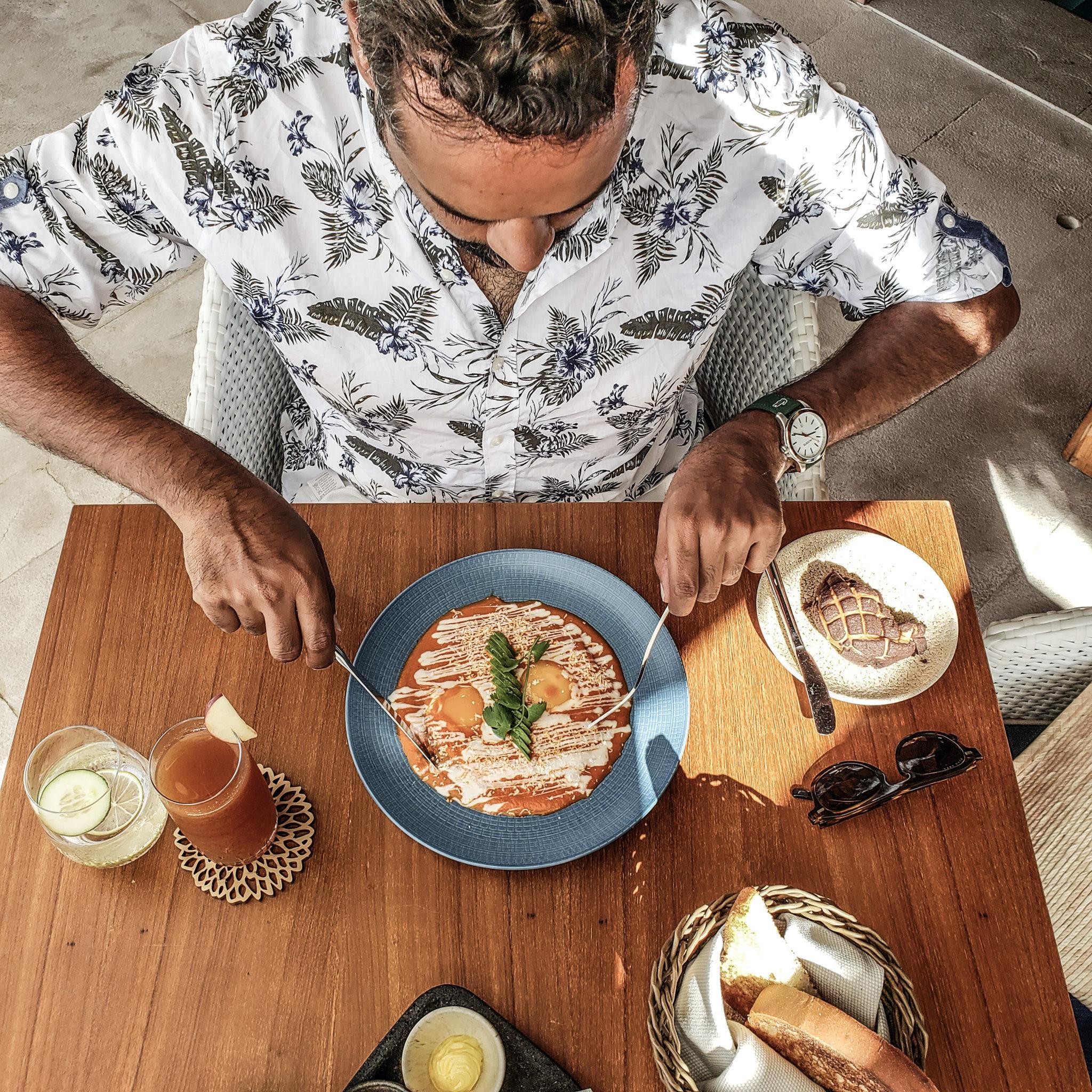Chable Maroma Resort - Quintana Roo - Playa Del Carmen - Playa Maroma - Huevos Rancheros - Breakfast - Brunch
