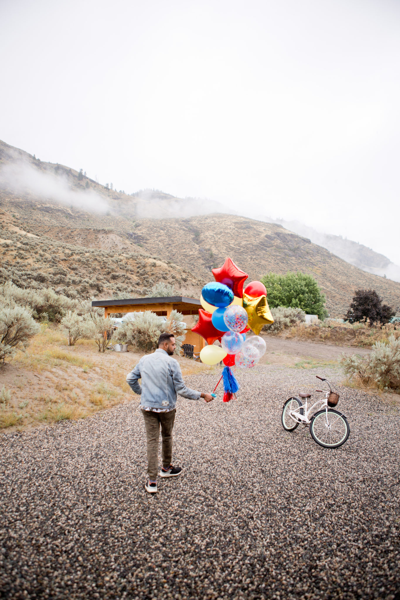 Tourism Kamloops - British Colombia - Blackbox Container Home - Balloons - Birthday - Party - Sultan Sandur