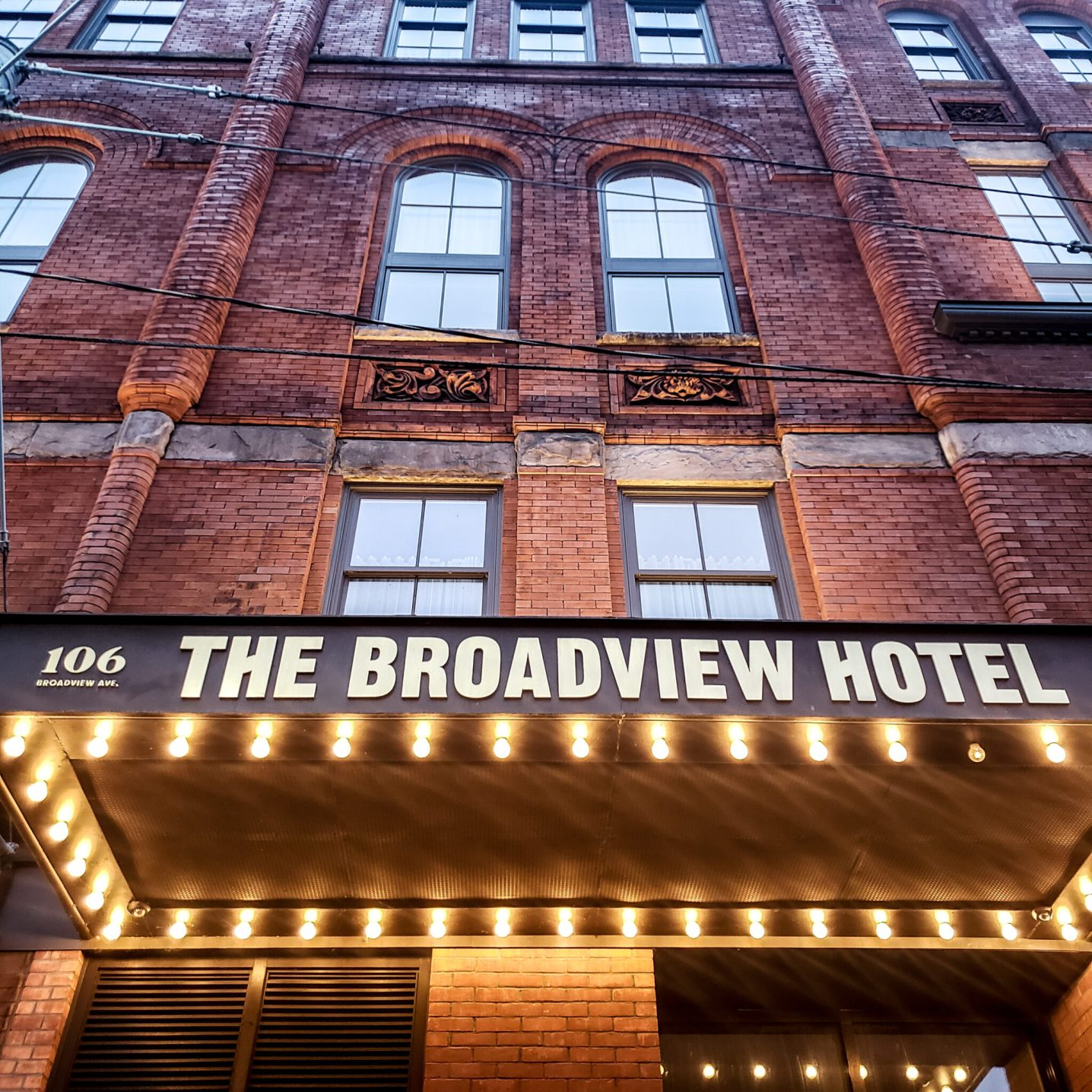 The Broadview Hotel - Broadview Hotel - Queen East - Toronto East - Toronto Life - Boutique Hotel - Facade