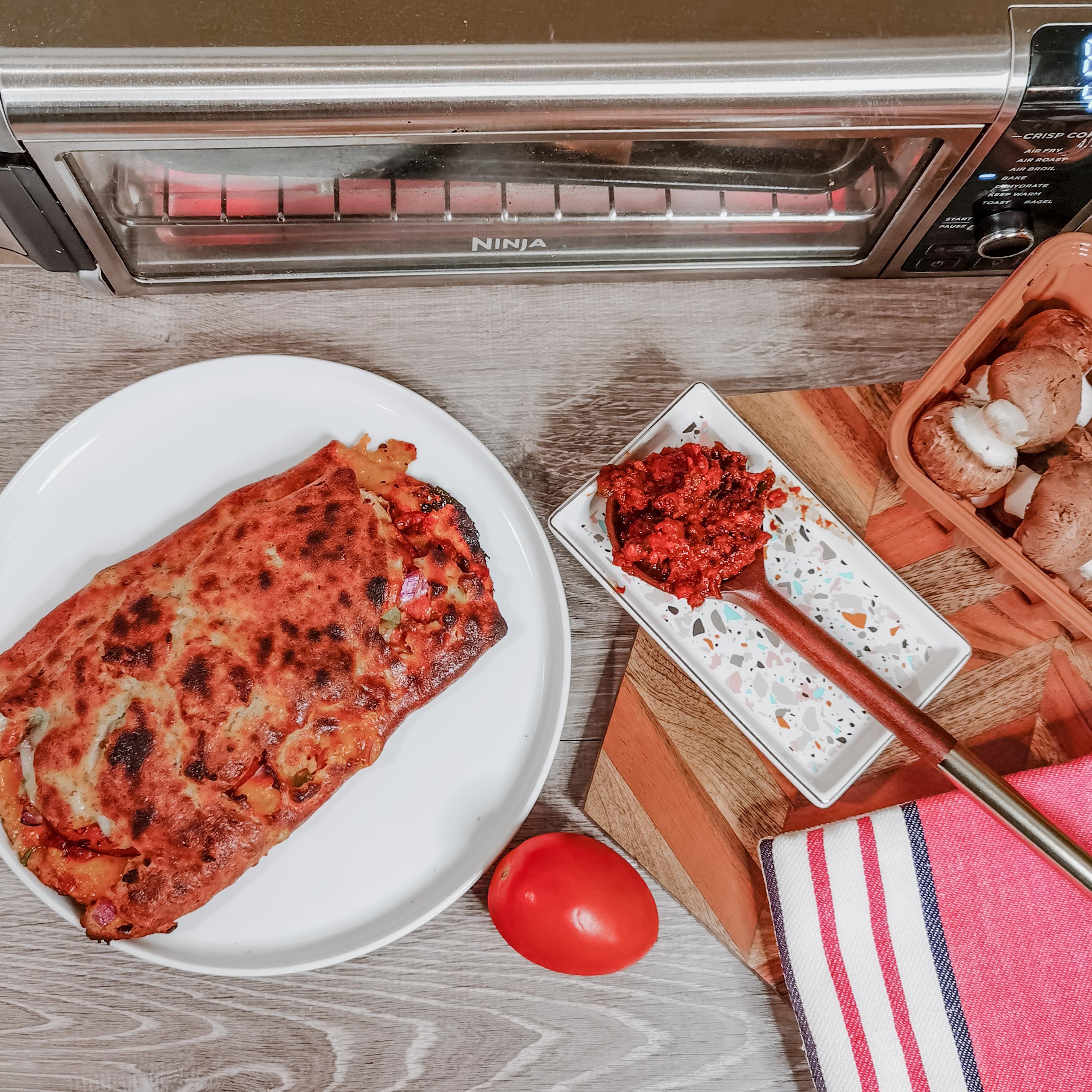 Ninja Foodi Digital Air Fry Oven - Stromboli - Recipe - Homemade - Ninja Kitchen Canada