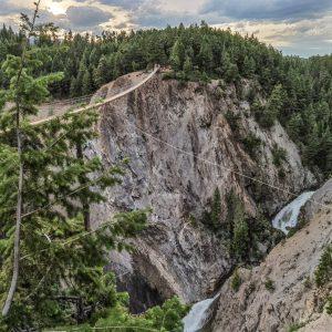 The Golden Skybridge - Waterfall View