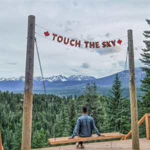 The Golden Skybridge - Touch the Sky Swing