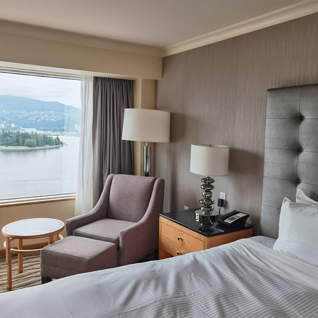 Pan Pacific Vancouver - Downtown Waterfront YVR - Room View