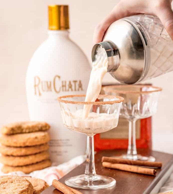Snickerdoodle Cocktail (with RumChata)