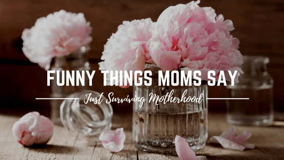 Funny Things Moms Say…