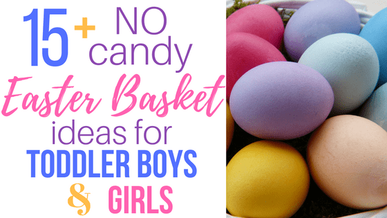 Easter basket ideas for toddlers justsurvivingmotherhood easter basket ideas for toddlers negle Image collections