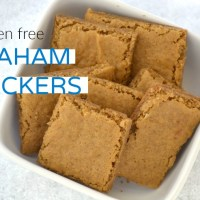 Soaked Gluten Free Graham Crackers (gluten free, egg free, dairy free, nut free, corn free)
