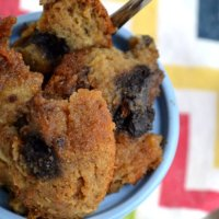 What To Do With Leftover Muffins...Make Leftover Muffin Bread Pudding!