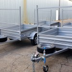 400 mm Sides on our 7 x 4 trailer