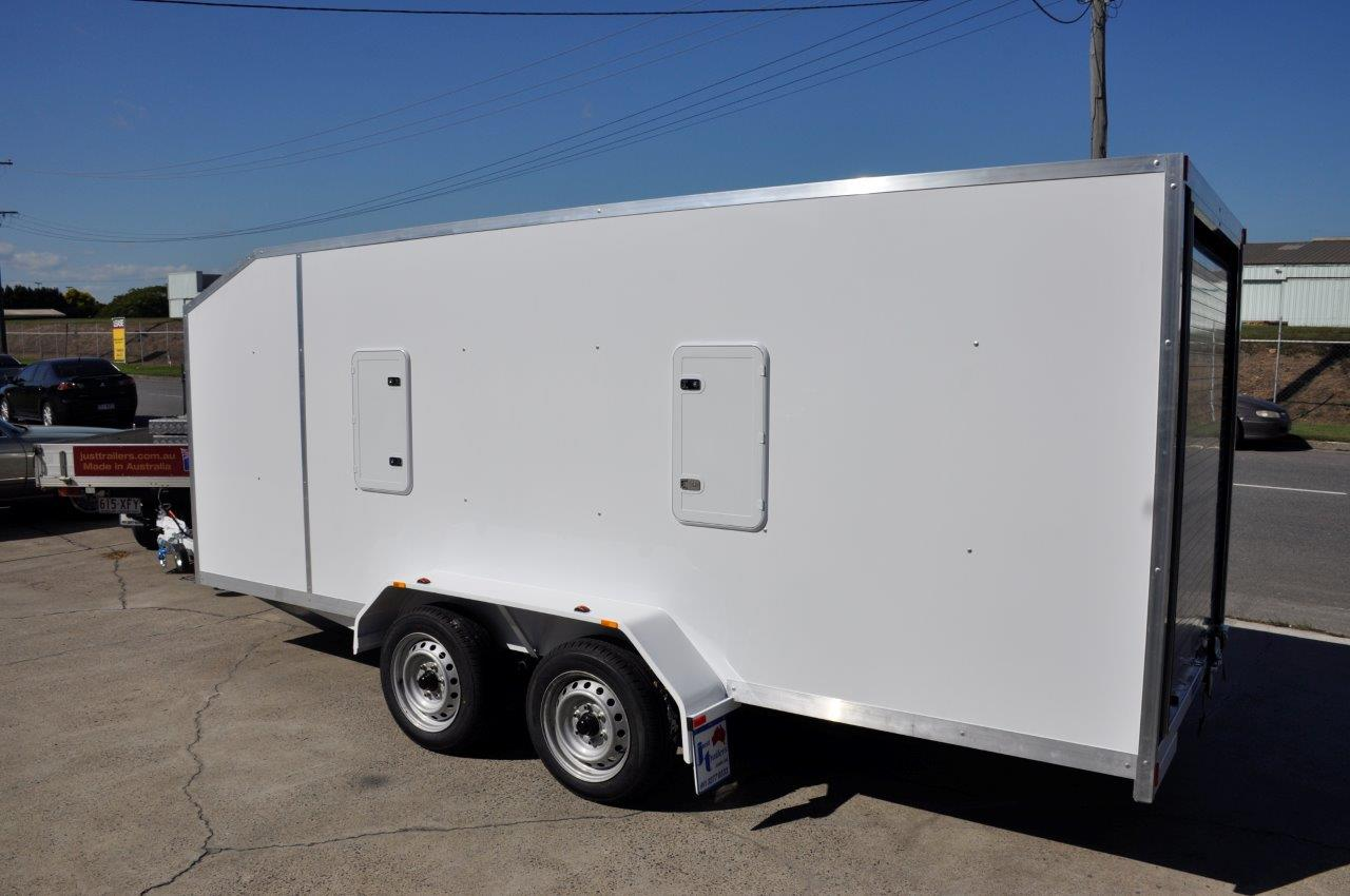 ENCLOSED CUSTOM JUST TRAILERS