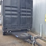 CONTAINER MOBILE KITCHEN TRANSPORT CUSTOM JUST TRAILERS ENGINEERING