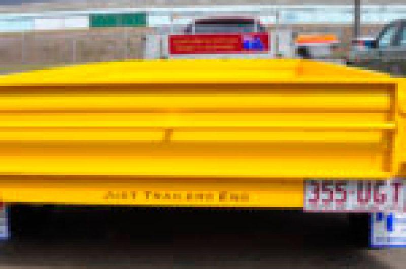 Yellow Box trailer