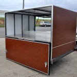 JUST TRAILERS CUSTOM DESIGN COFFEE CART
