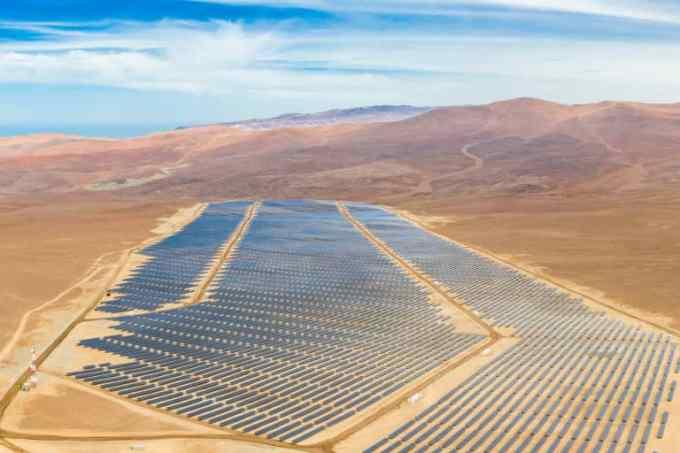 Photo courtesy of Solar Energy photovoltaic Power Plant over Atacama: https://www.shutterstock.com/image-photo/aerial-drone-view-solar-energy-photovoltaic-1696440436