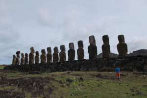 Easter Island: Or how I met stray dogs and tried to lose them