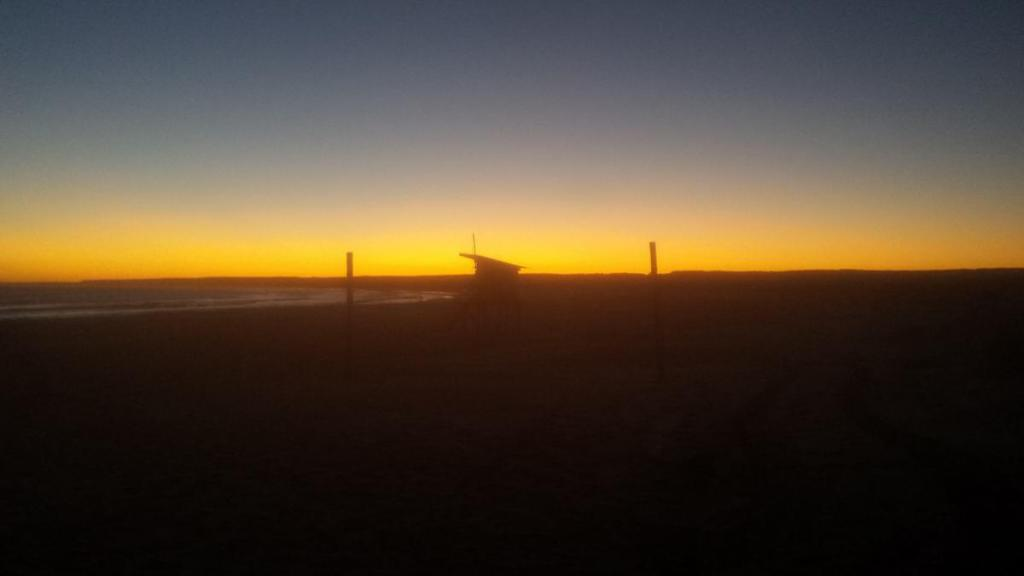 Sunset in Cabo Polonio